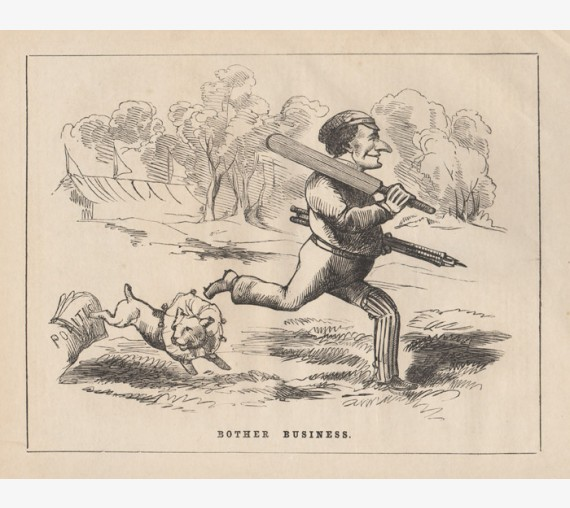 Bother Business engraving 1858 Melbourne Punch