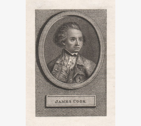 James Cook engraving