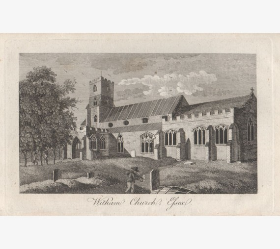 witham church essex engraving