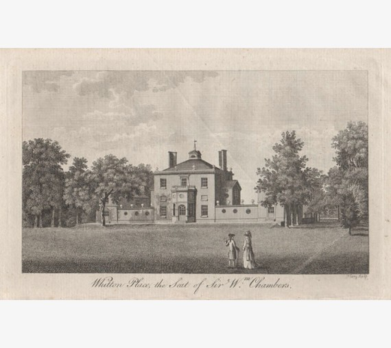 whitton place william chambers engraving cary