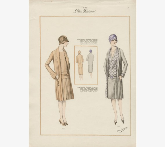 chic parisien french fashion 1920s bachroitz