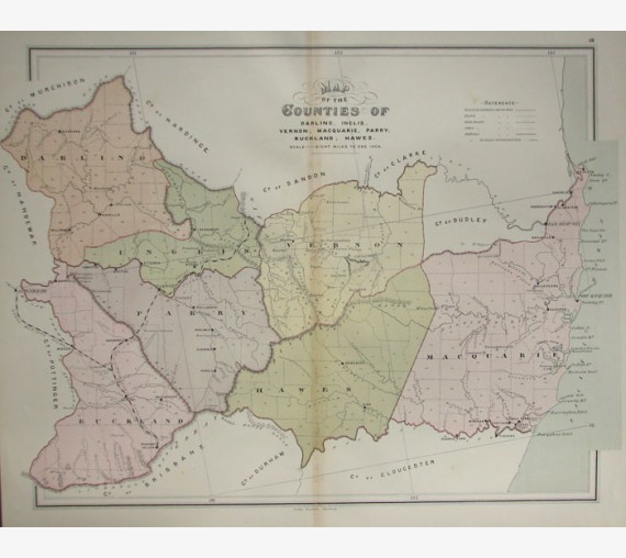 nsw county map darling inglis vernon macquarie