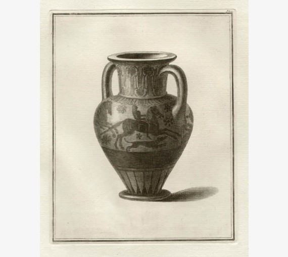 Chalcidian neck amphora William Hamilton Greek Vase engraving Etruscan