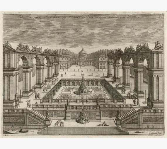 French 17th century garden design