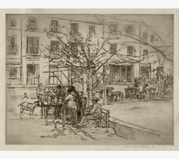 Mortimer Menpes etching