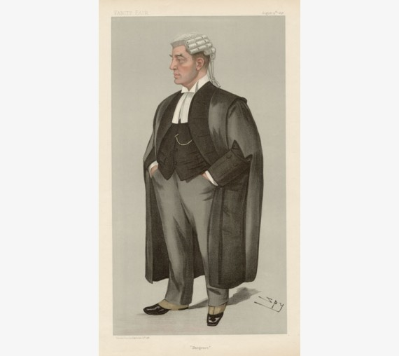 bargrave deane vanity fair legal spy judge chromolthograph