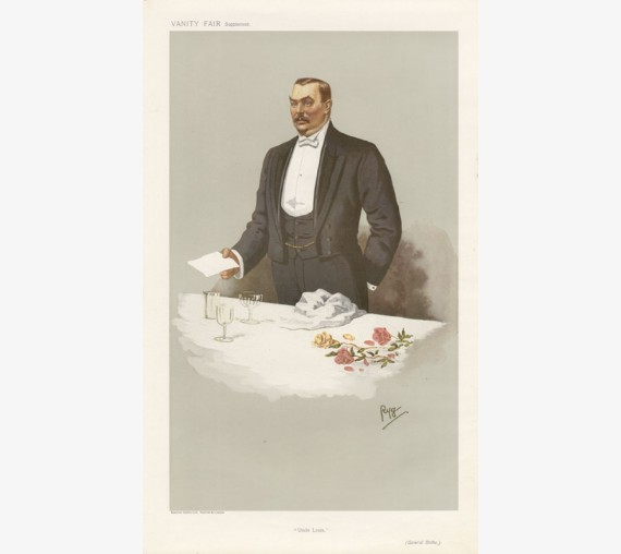 Vanity Fair Uncle Louis General Louis Botha portrait