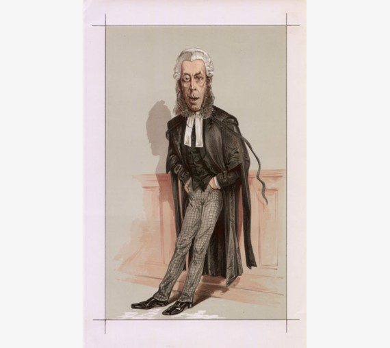 robert collier vanity fair legal spy judge chromolthograph