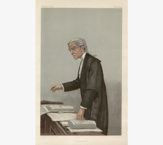 ulsterman mccall vanity fair legal spy judge chromolthograph