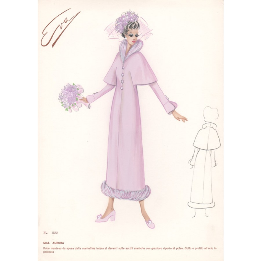 Italian Wedding Dress 1960s Fashion Design Pink: Fashion Sketches Italian Wedding Dresses At Websimilar.org