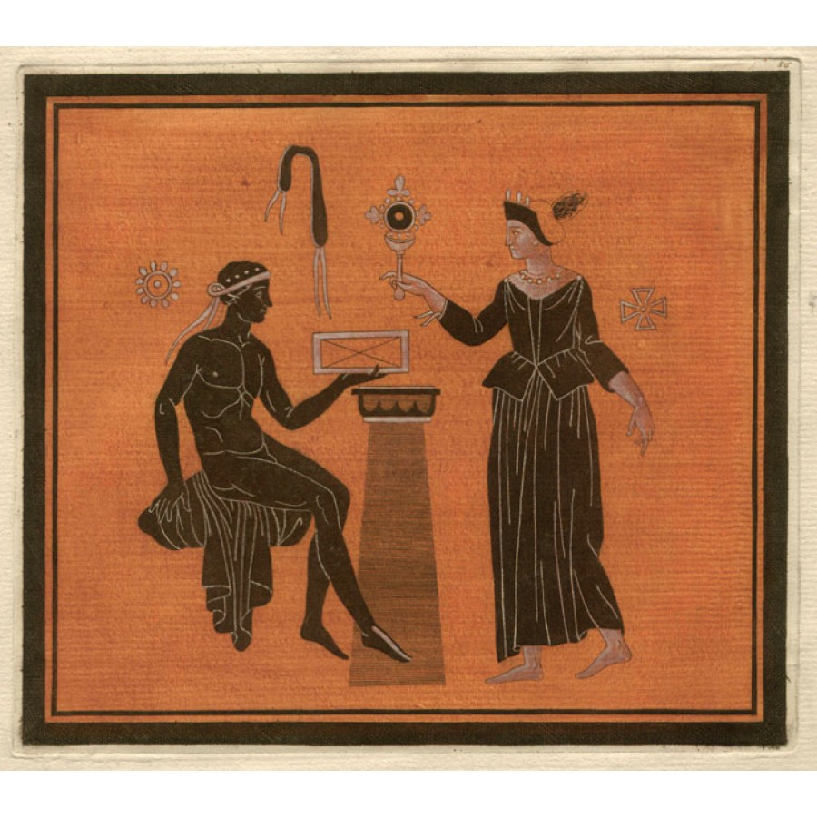 Hamilton greek vase seated man and standing woman william hamilton greek vase painting engraving etruscan reviewsmspy