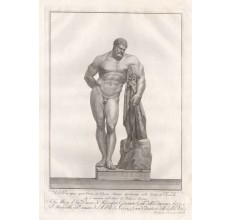 Farnese Hercules engraving Francesco Piranesi classical sculpture