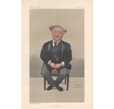 Vanity Fair Oxford Music John Stainer portrait lithograph