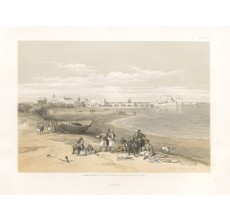Sidon David Roberts lithograph Holy Land