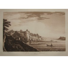 Fort Allahabad India aquatint William Hodges