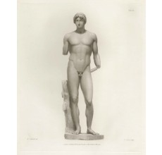 Roman statue sculpture Apollo engraving Corbould