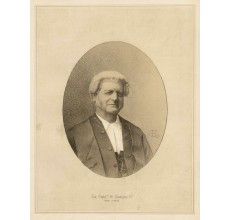 Darley Chief Justice lithograph legal portrait