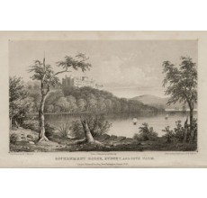 Government House Sydney Cove Farm lithograph Walton Mundy 1852