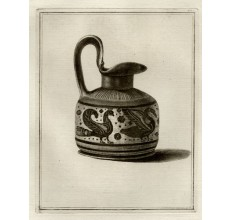 Corinthian trefoil oinochoe William Hamilton Greek Vase engraving