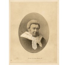 Sir James Martin  lithograph portrait