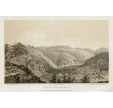 Ophir Gold Mines lithograph Walton Mundy 1852