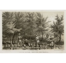 Turon River Rocking Cradle lithograph Walton Mundy 1852