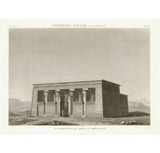 Temple Esne Napoleon Description Egypt engraving