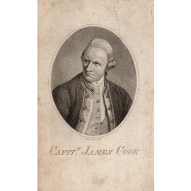 Capitn James Cook portrait engraving Arndt Dance