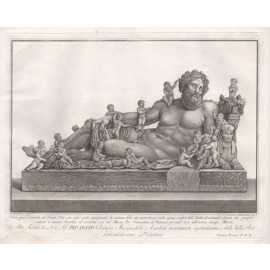 Nile engraving Francesco Piranesi classical sculpture