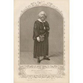 GV Brooke Shylock engraving actor portrait