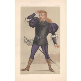 Vanity Fair Polish Tenor Jean De Reszke portrait