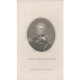 Captain John Shortland Stipple engraving 1810