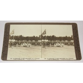 Governor General Munro Ferguson Broadmeadows Rose stereoview