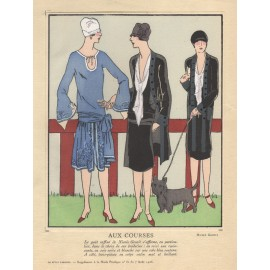 french art deco pochoir fashion designs nicole groult