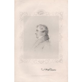 jmw turner portrait engraving