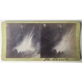 The Shawls Jenolan Caves Stereoview albumen photograph Joseph Rowe 1890