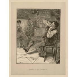 Address to the Toothache dentistry engraving