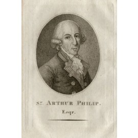 Arthur Phillip engraving Sherwin Wheatley