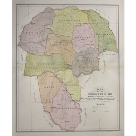 nsw county map benarba stapylton courallie burnett arrawatta