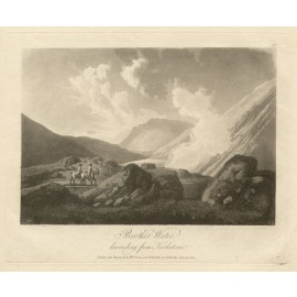 Lake District Brother Water Green antique engraving