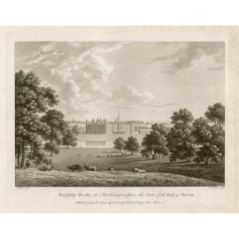 Burghley House Northamptonshire Watts seat nobility engraving