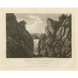 Lake District Fordingdale beck Green antique engraving