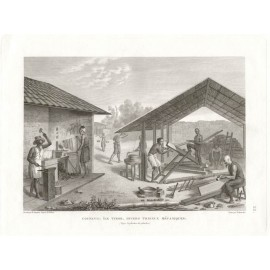 Coupang Timor Freycinet Pellion engraving