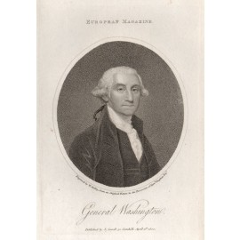 General George Washington portrait engraving President