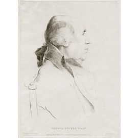 George Stubbs portrait engraving Daniell Dance