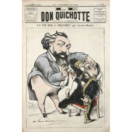 arracher Gilbert Martin Don Quichotte dentist extraction