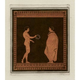 William Hamilton Greek Vase painting engraving D'Hancarville
