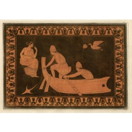 fishermen boat William Hamilton Greek Vase painting engraving Etruscan