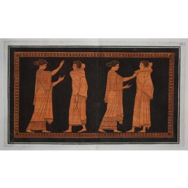 William Hamilton Greek Vase painting engraving Etruscan D'Hancarville