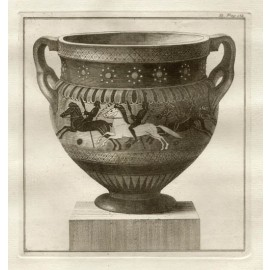 Corinthian column krater William Hamilton Greek Vase engraving Etruscan